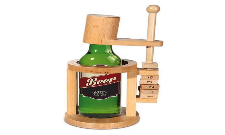 Bier puzzelhouder