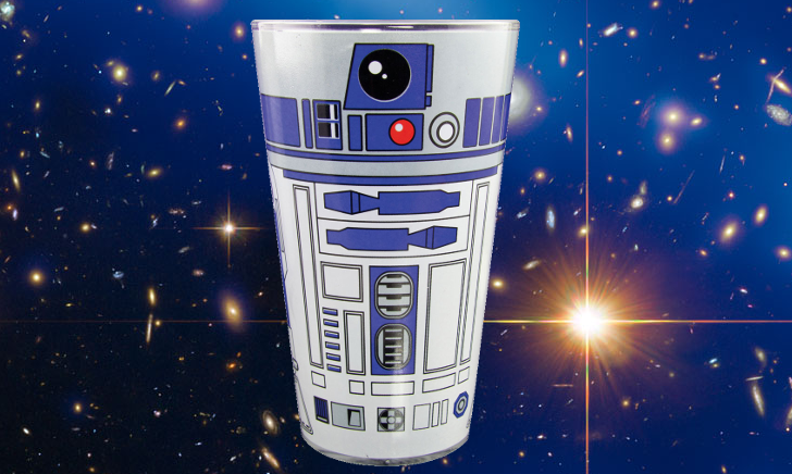 Star Wars bierglas R2D2 470 ml