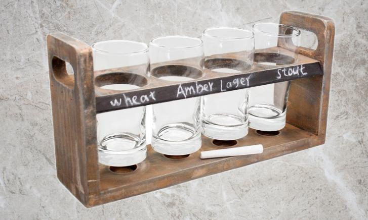 Beer tasting set Houder