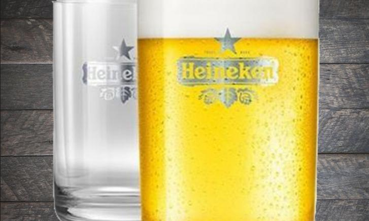 The Sub Heineken bierglazen