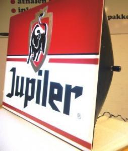 Jupiler LED display indoor