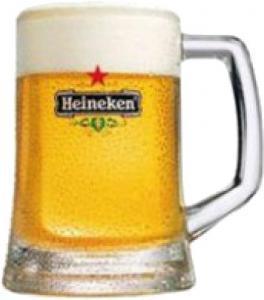 Stoere bierpullen van Heineken