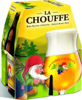 La Chouffe set van 4 flesjes á 0,33 liter