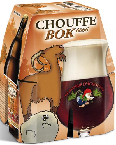La Chouffe Bok set van 4 flesjes á 0,33 liter