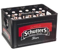Schutters krat van 24 flesjes á 0,30 liter