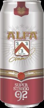 Alfa super strong 9.2 blik van 0.5 liter
