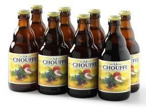 La Chouffe tray van 8 flesjes á 0,33 liter