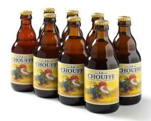 MC Chouffe set van 8 flesjes á 0,33 liter