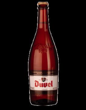 Duvel fles á 0,75 liter