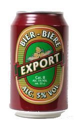 Export blik 33cl