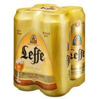 Leffe Blond set van 4 blikken á 0,50 liter