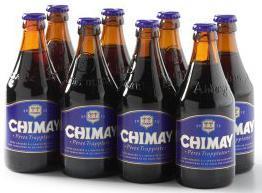 Chimnay blauw - Set van 8 flesjes bier
