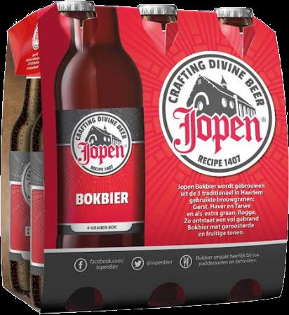 Jopen Bokbier set van 6 flesjes á 0,30 liter