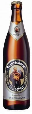 Franziskaner Weissbier fles van 0,50 liter