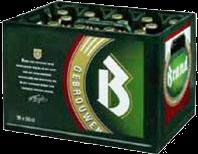 Brand krat 18 flesjes 0.5l