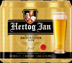Hertog Jan set van 6 blikken á 0,50 liter