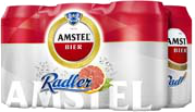 Amstel Radler grapefruit