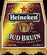 Heineken Oud Bruin set van 6 flesjes á 0,30 liter