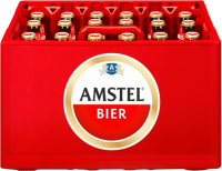 Amstel krat van 24 flesjes á 0,30 liter