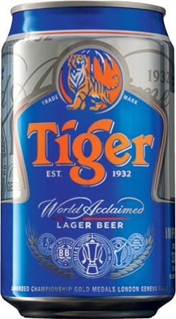 Tiger Beer blikje 33cl