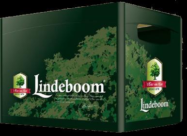 Lindeboom krat met 12 flesjes van 30cl