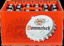 Dommelsch krat van 24 flesjes á 0,30 liter