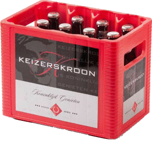 Keizerskroon krat van 12 flesjes á 0,30 liter