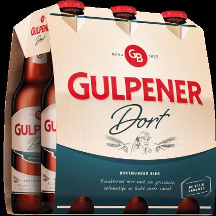 Gulpener Dort set van 6 flesjes á 0,30 liter