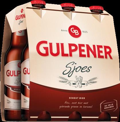 Gulpener Sjoes set van 6 flesjes á 0,30 liter
