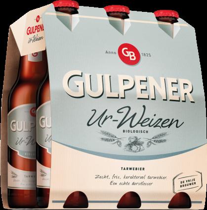 Gulpener Ur-Weizen set van 6 flesjes á 0,30 liter