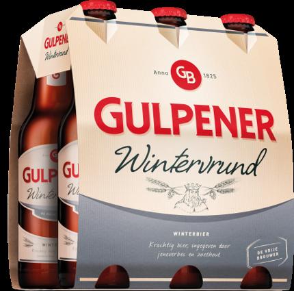 Gulpener WinterVrund set van 6 flesjes á 0,30 liter