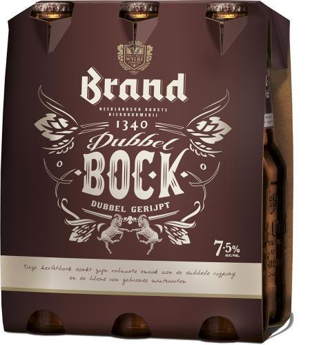 Brand Dubbelbock set van 6 flesjes á 0,30 liter