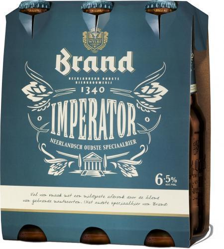 Brand Imperator set van 6 flesjes á 0,30 liter