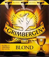 Grimbergen Blond set van 6 flesjes á 0,30 liter
