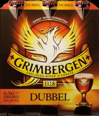 Grimbergen Dubbel set van 6 flesjes á 0,30 liter