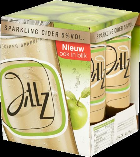 Jillz Sparklink cider 4pack blikjes van 0,25 liter