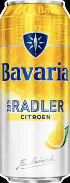Bavaria Radler blik 0.5 liter