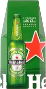 Heineken set van 4 flessen met 50cl