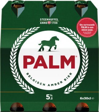 Palm set van 6 flesjes á 0,30 liter