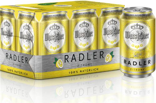 Warsteiner Radler sixpack blikjes 33cl.