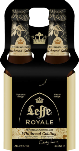 Leffe Royale set van 4 flesjes van 0,33 liter