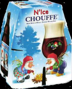 N Ice Chouffe set van 4 flesjes van 0,33 liter