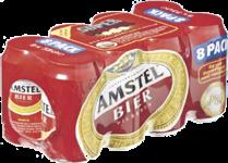 Amstel set van 8 blikjes á 0,33 liter