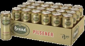 Brand tray met 24 blikjes á 0,50 liter