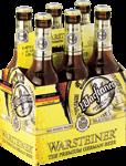 Warsteiner set van 6 flesjes á 0,33 liter