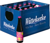 Wittekerke Rosebier krat van 24 flesjes á 0,25 liter