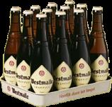 Westmalle Tripel doos van 12 flesjes á 0,30 liter