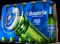 Bavaria set van 10 flesjes á 0,25 liter