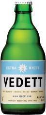 Vedett Extra White fles van 0,33 liter