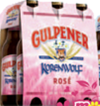 Gulpener Korenwolf Rose set van 6 flesjes á 0,30 liter